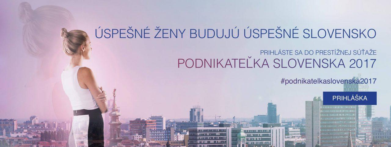 Súťaž podnikateľka Slovenska 2017,