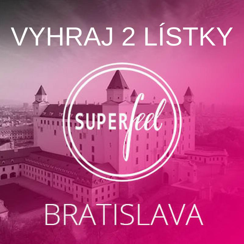 súťaž o dva lístky na superfeel konferenciu