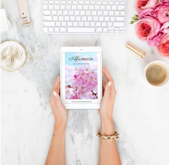 afirmacie, motivácia, e-book, zdarma