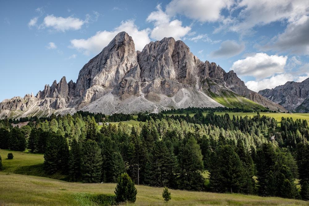 hora, echo, rozvoj, hory