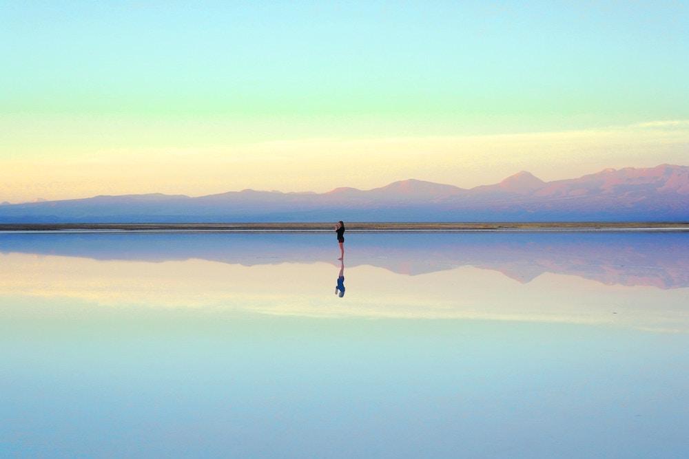 more, horizont, pozitivne myslenie