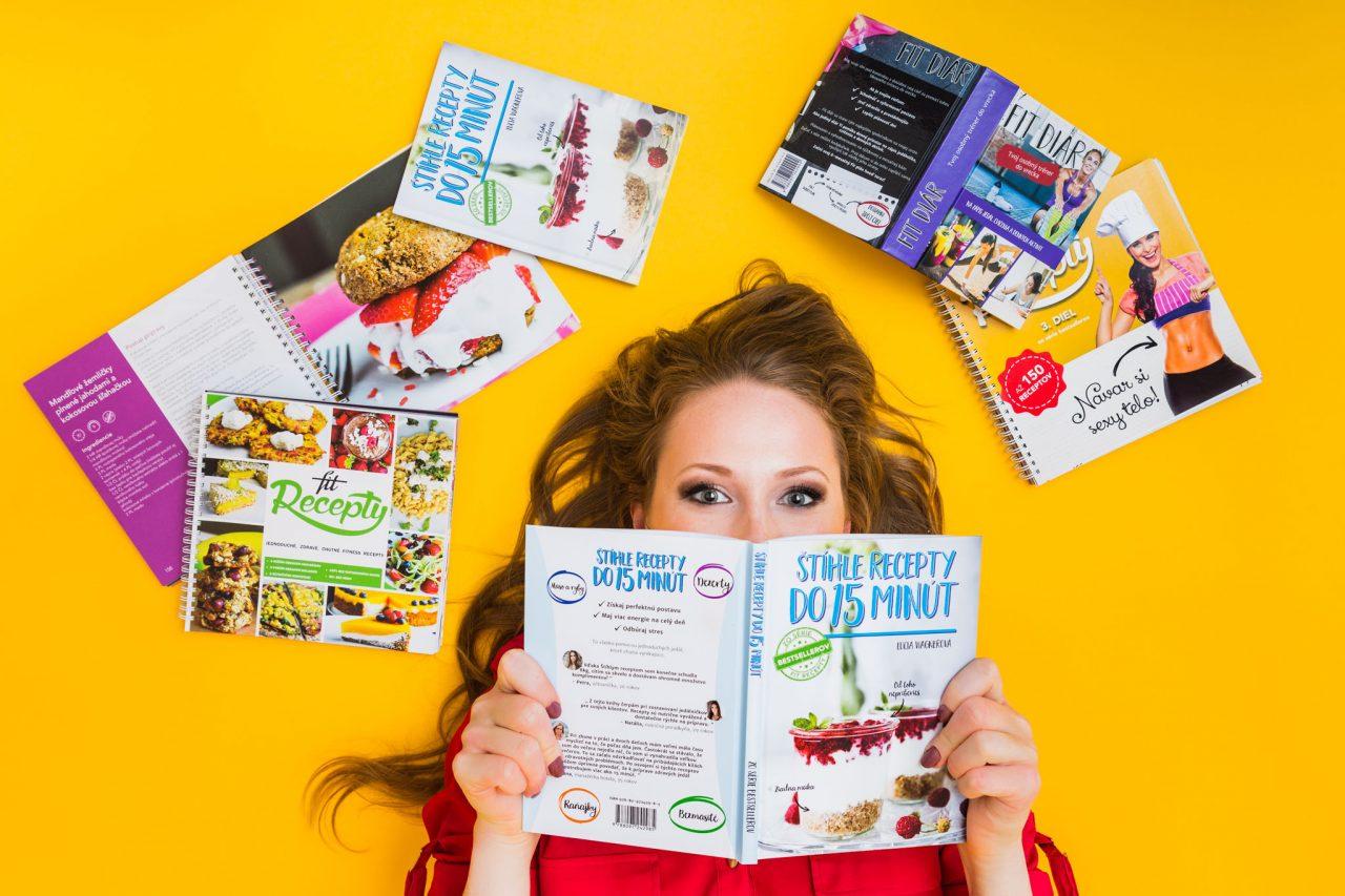 fitrecepty, kniha, zdravie, jedlo, recepty