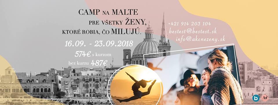 pobyt, akcne zeny, Malta, jazyk