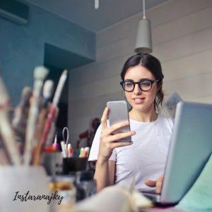 instagram, instaranajky, mobil, zena, biznis