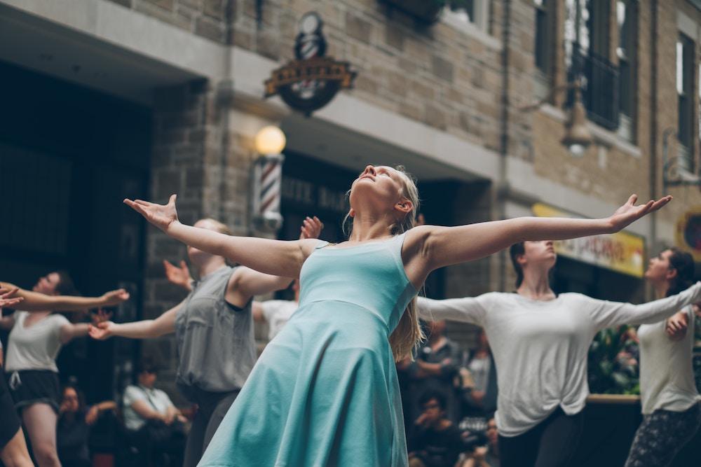 pohyb, balet, tanec, energia