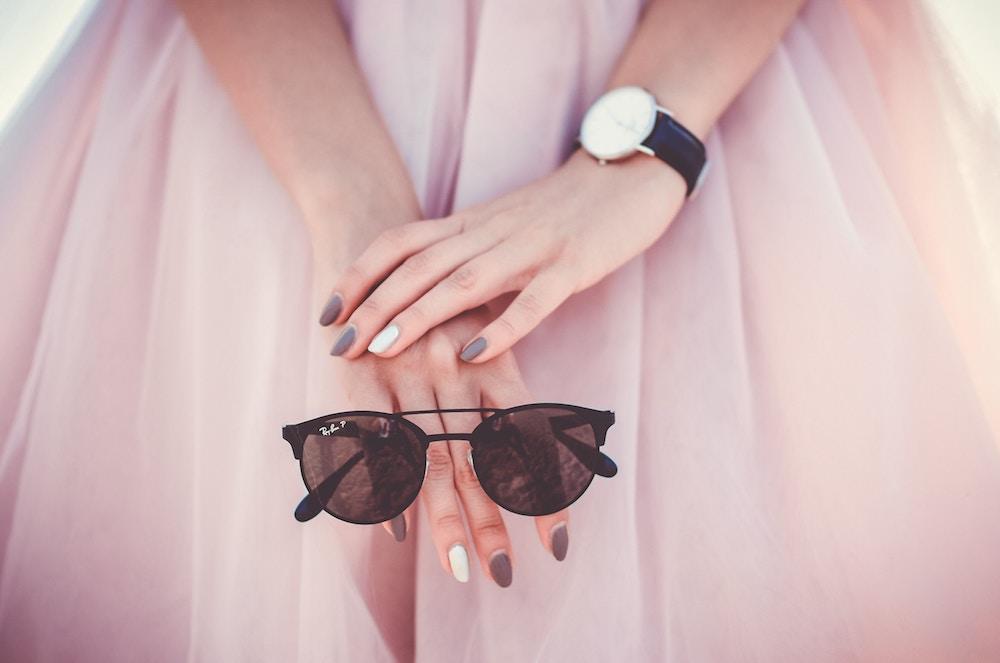 okuliare, slnko, úprava, žena, vzhľad