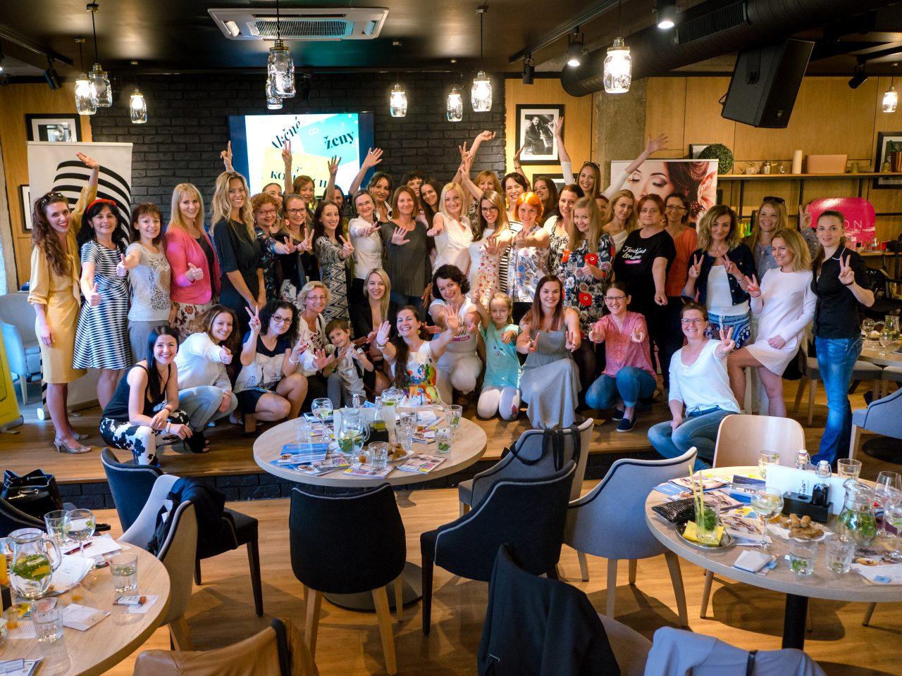 30cb459edbac4 Presne pred týždňom sa stretli akčné ženy na inšpiratívnom stretnutí v  Košiciach, aby si vymenili svoje skúsenosti aj nápady.