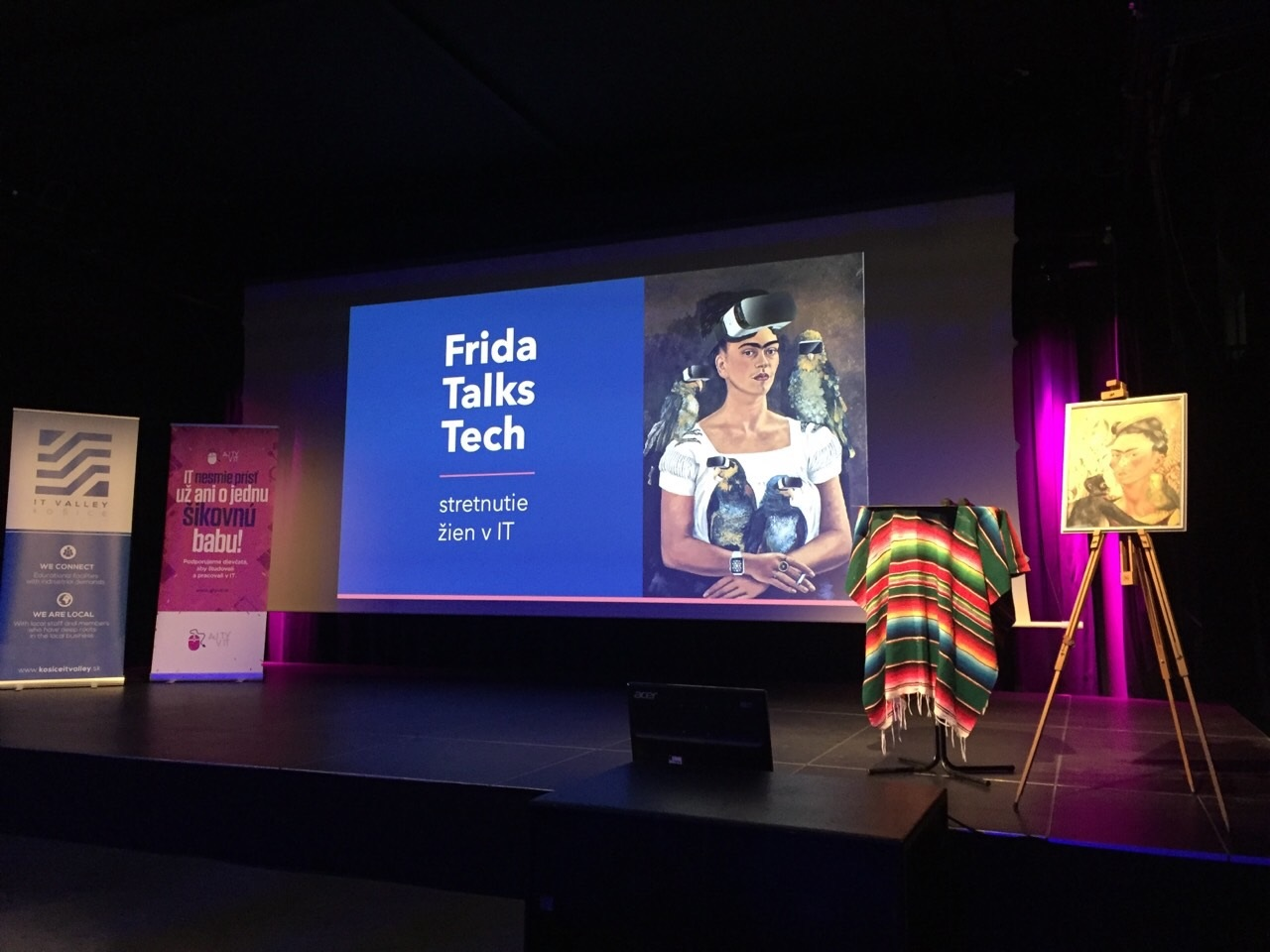 event, zeny v IT, frida talks tech, technologie