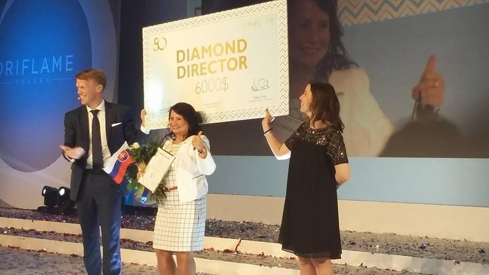 oriflame, diamond director, mlm, kozmetika