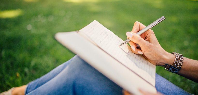 zapisnik, myslienky, zapisovanie