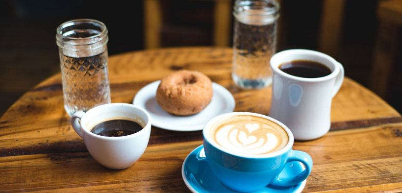 jedlo, potraviny, kava