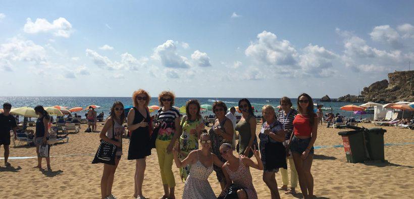 Camp na Malte, akčné ženy na MAlte