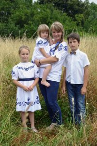 Ľubica Balgová s deťmi