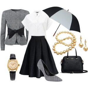 kolaz outfit moda stylistka