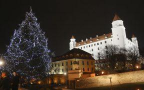 vianocny bratislavsky hrad