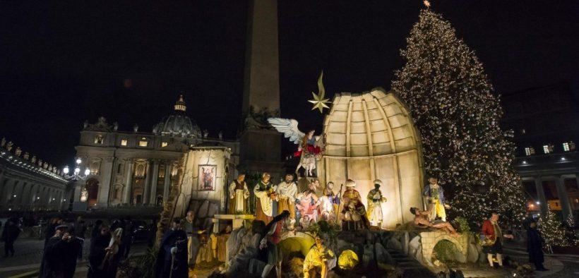 jasličky vo Vatikáne