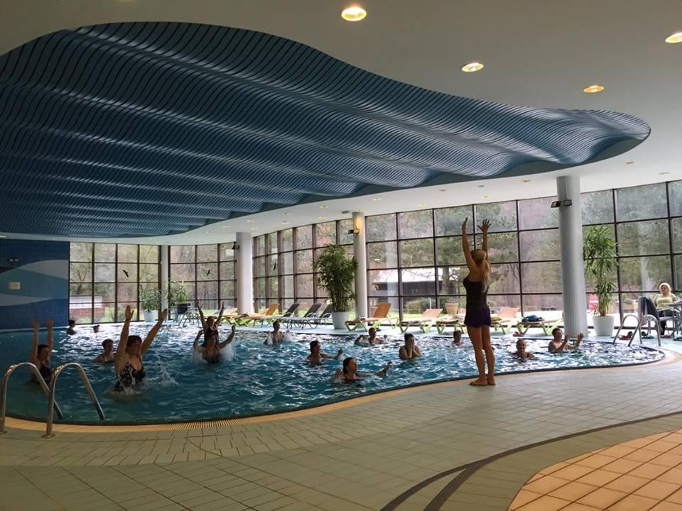 Aqua aerobic v častej