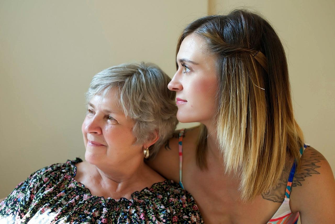 rodina, stari rodicia, starostlivost