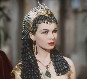 Vivien Leigh ako Kleopatra