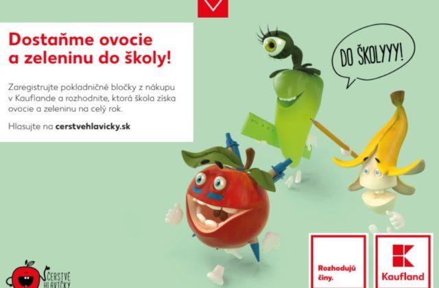 """f1590452a """"Čerstvé hlavičky"""" majú za cieľ zvýšiť konzumáciu čerstvého ovocia a  zeleniny u detí a ..."""