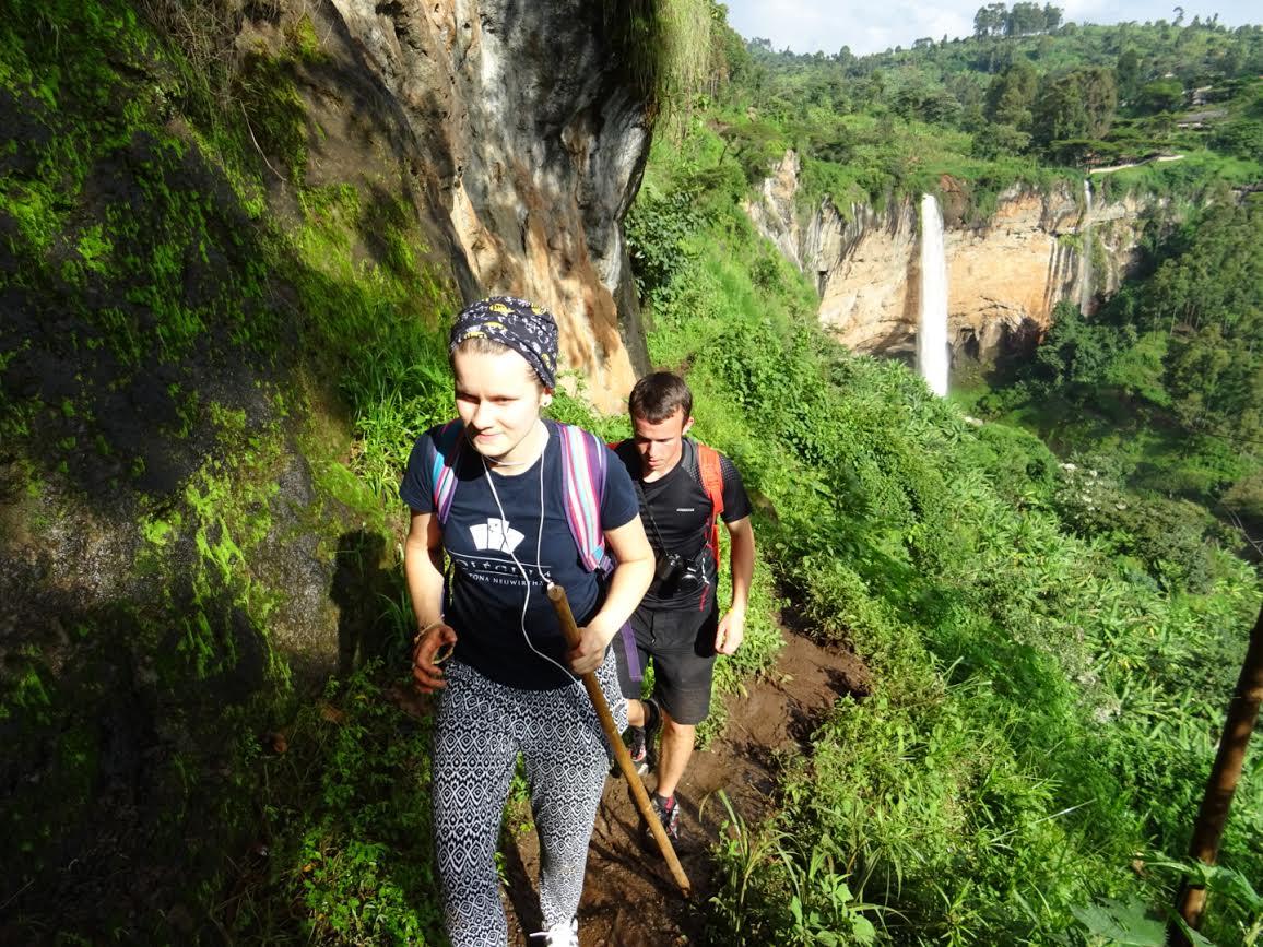 Soňa Matiová v Ugande