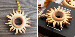 Drevené slnko Choralis Wood Art