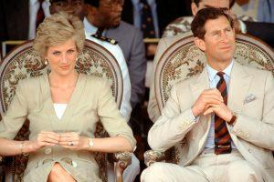Diana a Charles