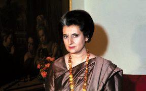 Indira Gándhiová
